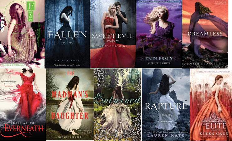 Pretty Ya Book Covers : Book covers for dresses other dressesss